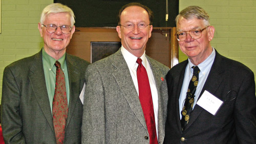 Gordon Wood, President Rush, and J.A. Leo Lemay