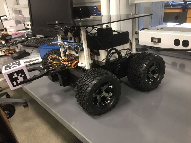 Csuci computer science students build robots for nasa to for Nasa press release