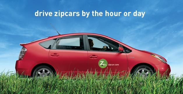Drive Zipcars by the hour
