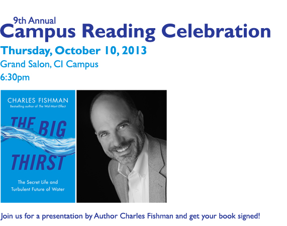 Campus Reading Celebration