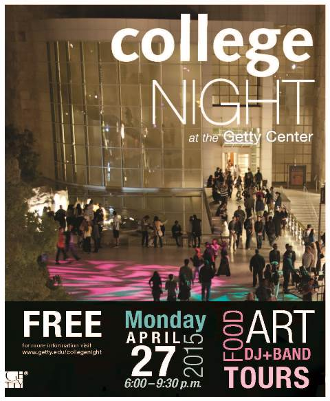 College Night at the Getty