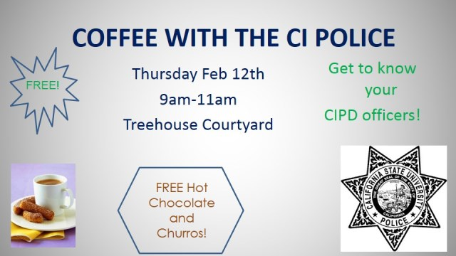 Coffee with CI Police