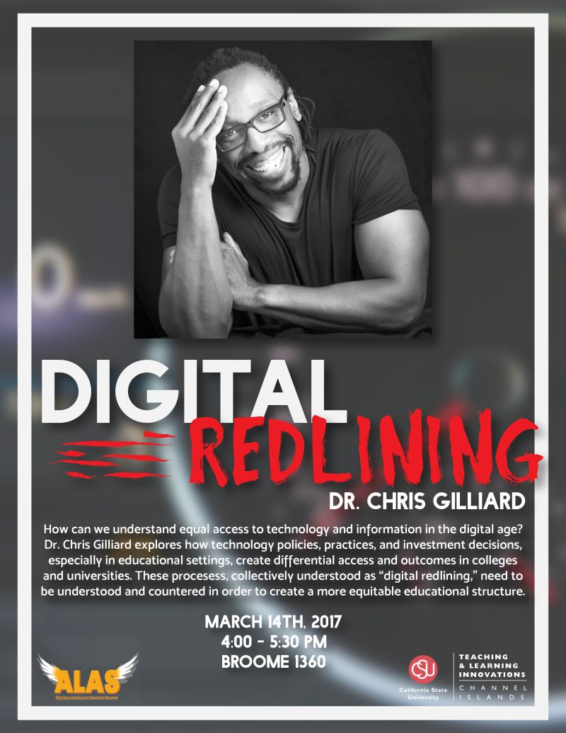 Digital Redlining Talk
