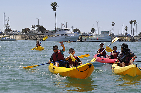 CI Boating Center Summer camp