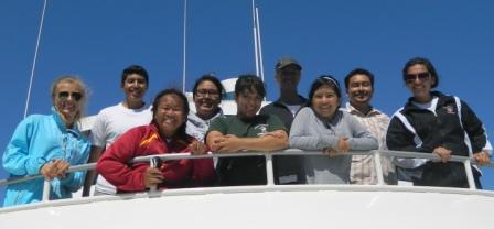 SSI 2012 crew heads to Santa Cruz Island