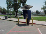 Photo of Parking Permit Dispenser