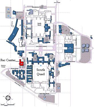 Csuci Campus Map Facilities   Campus Recreation   CSU Channel Islands