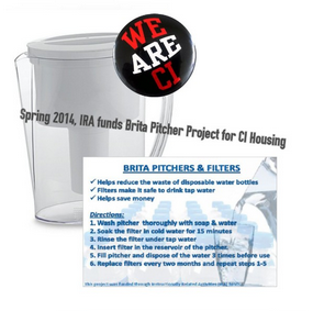 Brita Pitcher Dorm Project implemented Spring 2014