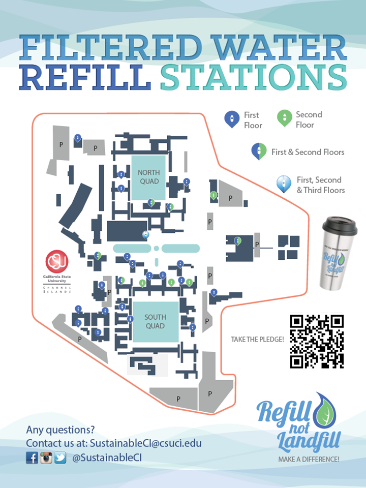 Hydration Station Location Map