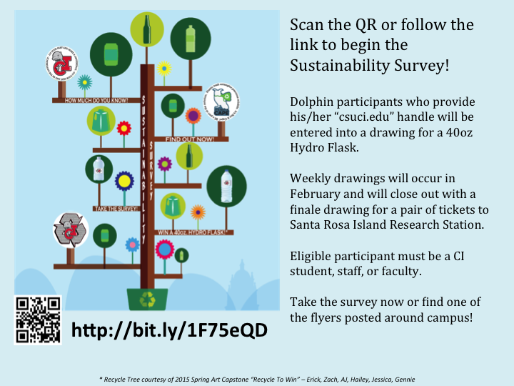 Sustainability Survey Flyer & Information