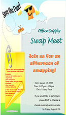 Example of swap meet flyer