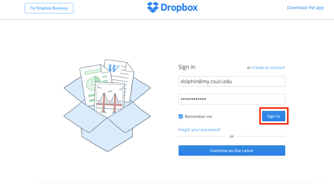 Dropbox - Academic Technology Services (ATS) - CSU Channel