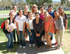 Photo of Fall 2012 LEAP volunteers
