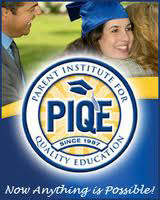 "Logo for PIQE with the slogan ""Now Anything is Possible!"""