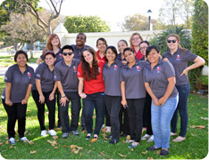 Photo of Spring 2012 LEAP volunteers