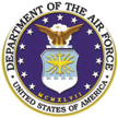 Logo for the United States Department of the Air Force