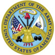 Logo for the United States Department of the Army