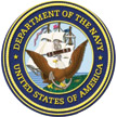Logo for the United States Department of the Navy